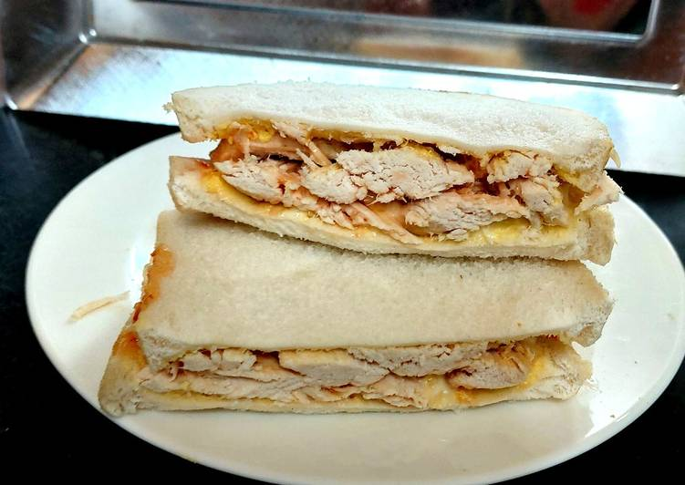 Recipe: Appetizing My Best Chicken Sandwhich 🥰
