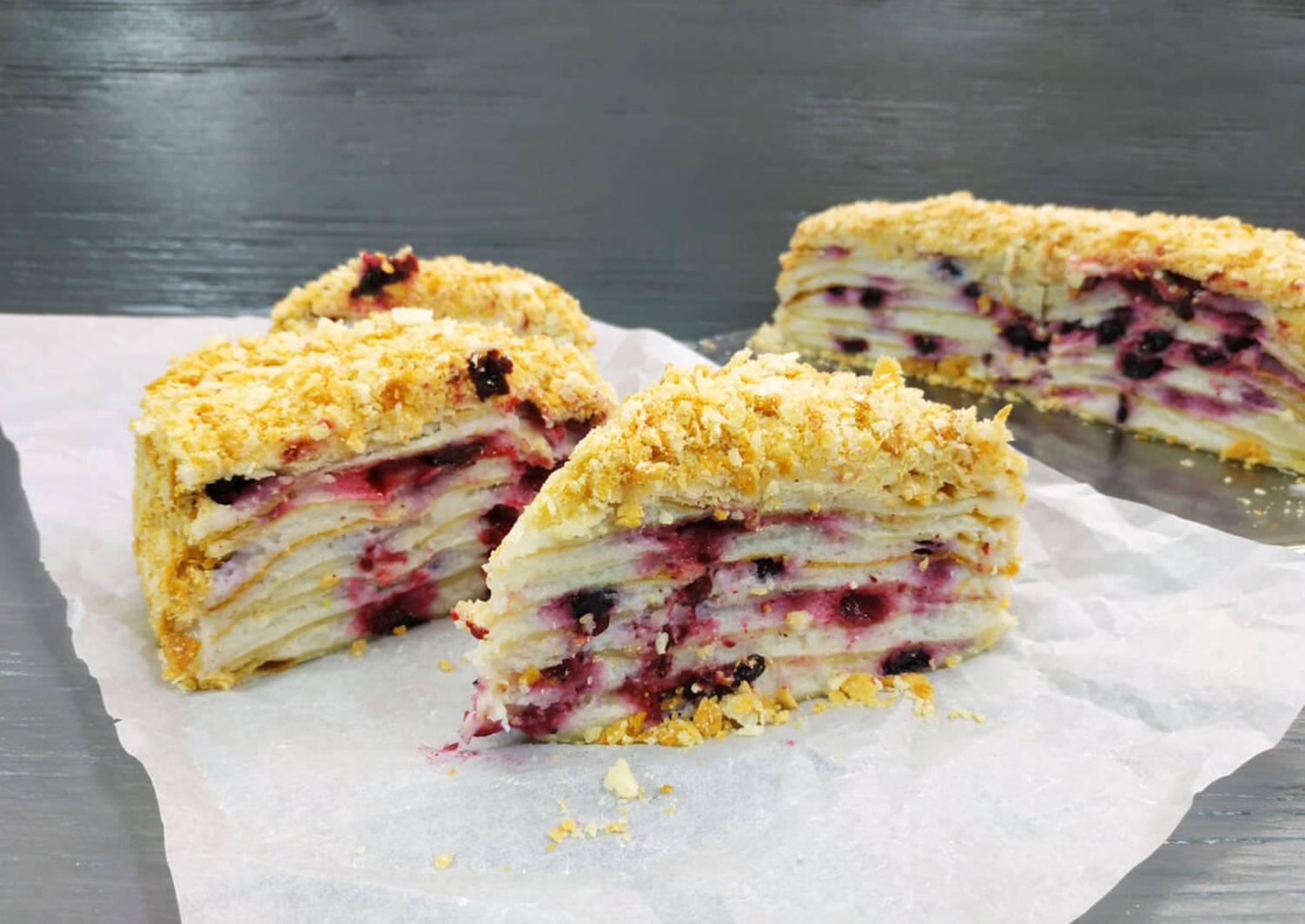 Рецепт постного торта с фото