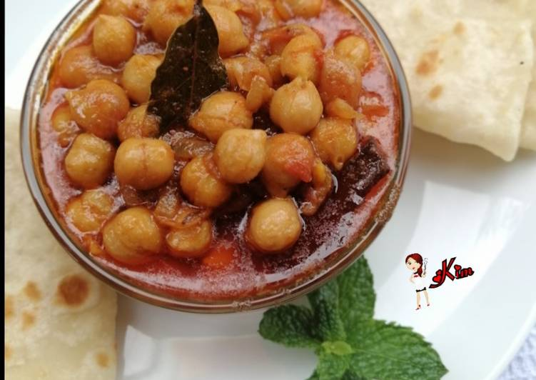 Recipe of Award-winning Chickpea Curry