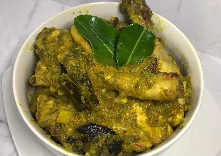 Ayam lado mudo / ayam cabe hijau