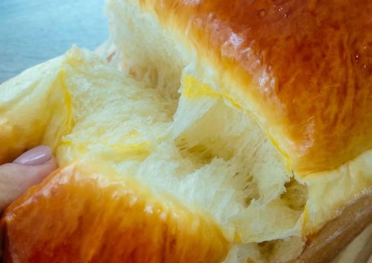 Resep Hokkaido Milk Loaf (Roti Tawar) Terbaik