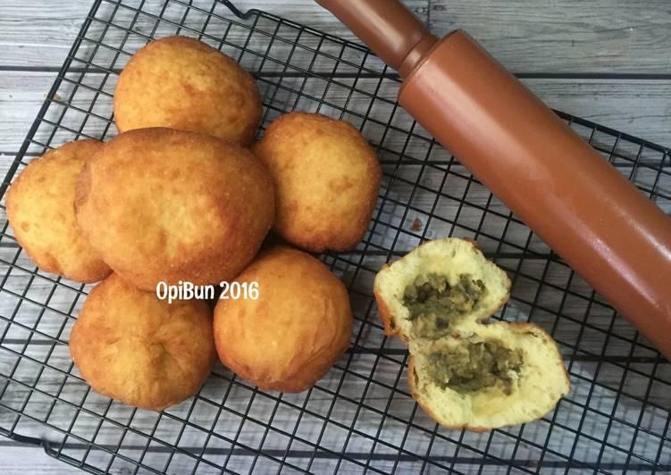 Wajib Coba Cara Memasak Untuk Untuk Roti Goreng Kacang Hijau Yang Enak