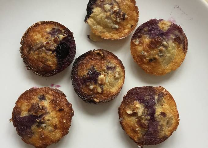 Mini breakfast muffins, only 3 ingredients & no flour!!