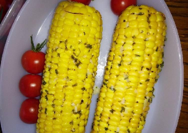 Épis de maïs au four