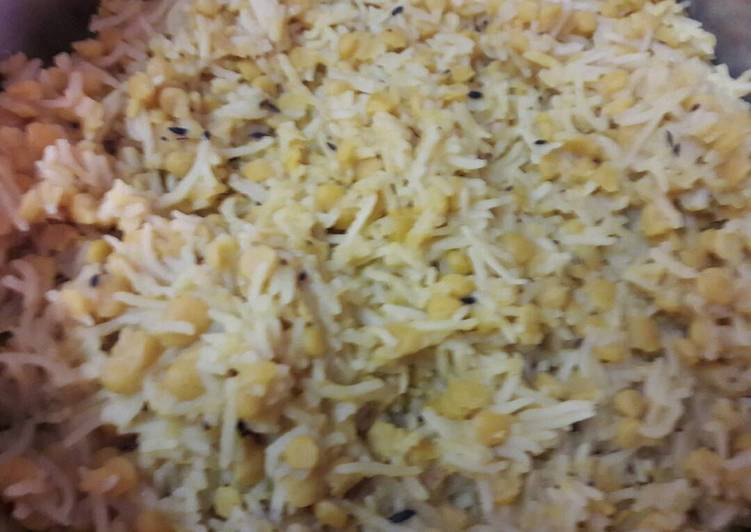 25 Minute Step-by-Step Guide to Make Autumn Chana Dal Pulao