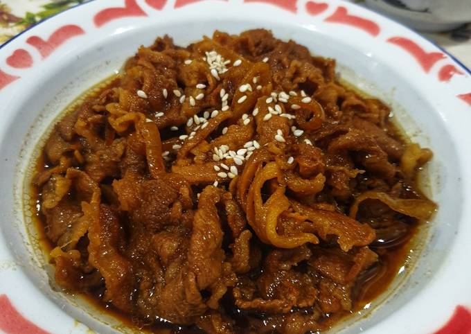 Yakiniku Beef ala Yoshinoya