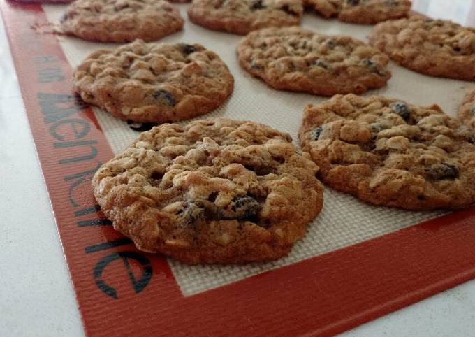 Recipe Perfect Oatmeal Raisin Cookies