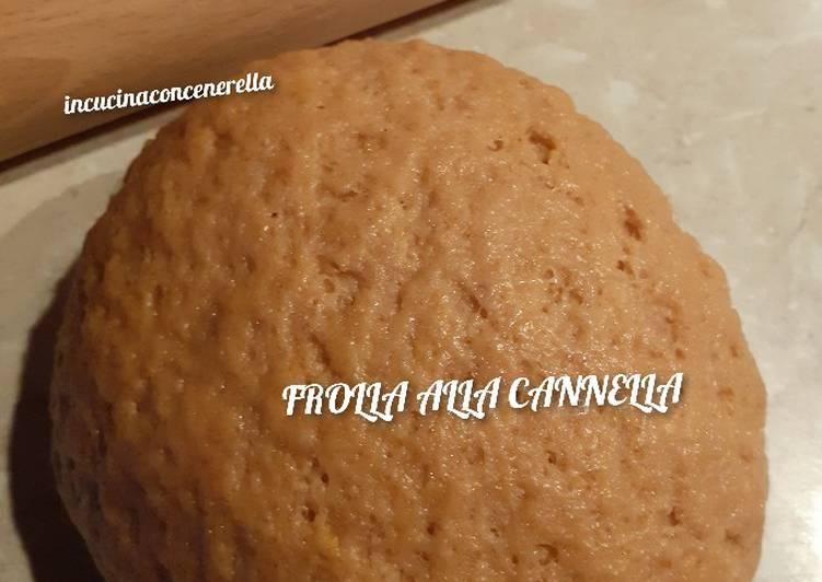 Ricetta Pasta Frolla alla cannella