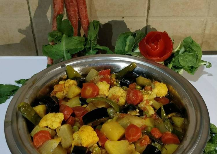 Recipe of Favorite Mix vegetables