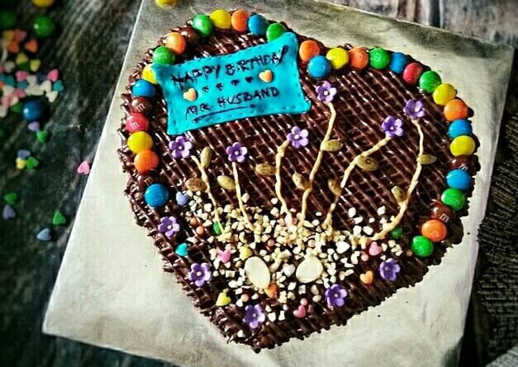 Brownies nutella cinta hatiku #syedmunawwar