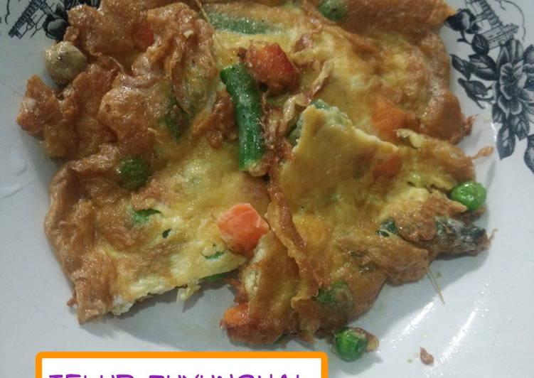 Telur Fuyunghai Simple untuk sarapan