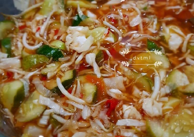 Resep Rujak asinan sayur oleh Deevee - Cookpad