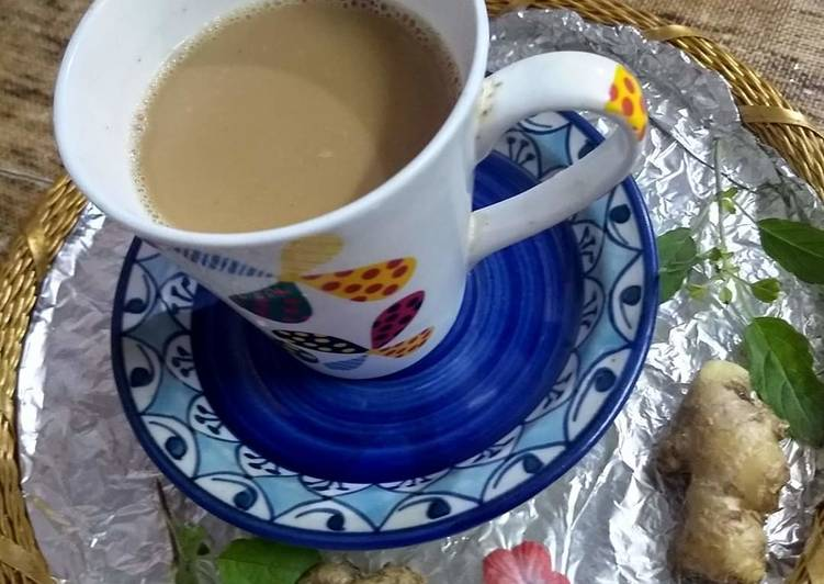 Turn to Food to Elevate Your Mood Tulsi adrak kali mirch ki chai