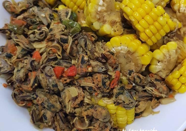 Resep Tumis Kerang Hijau Kupas Jagung Manis Oleh Henybernyta Kitchen Cookpad