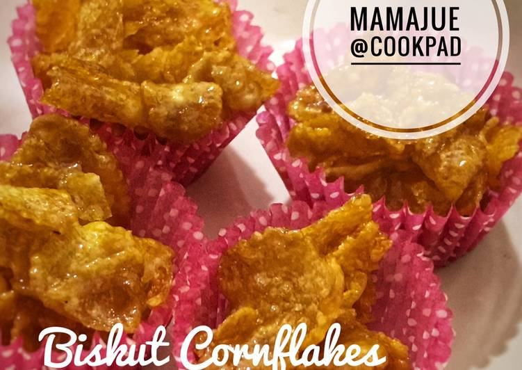 Biskut Cornflakes Madu