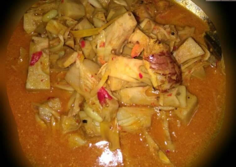 Resep Sayur Nangka (sayur gori) 😋 Yang Populer Dijamin Nagih