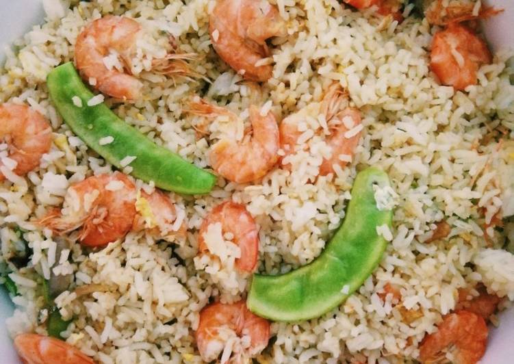 Recipe of Any-night-of-the-week 🍤Fire Shrimp Fried Rice🍤
