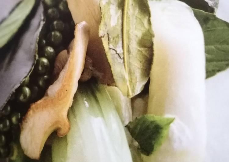 Pleurotes et Légumes à l'huile de coco