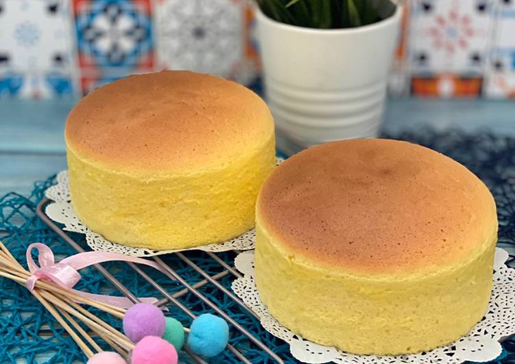 Recipe of Ultimate Condensed Milk Cotton Cake (smooth and silky)