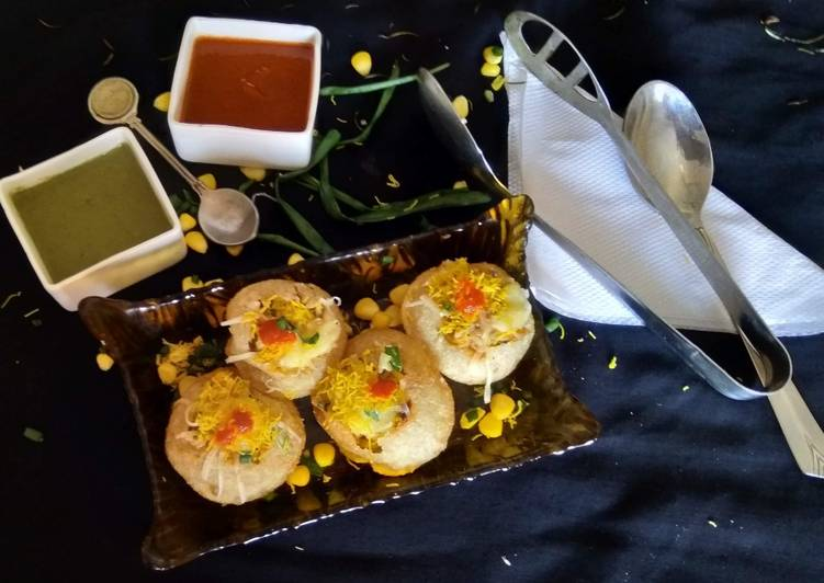 How to Make Award-winning Cheesy Puchka Chaat