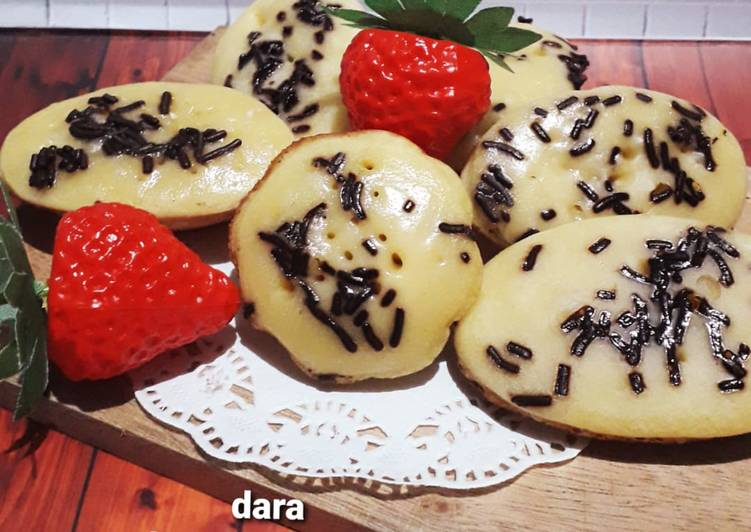 Kue Cubit (no mixer)