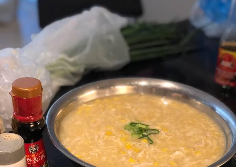 Sup jagung kepiting enak dan mudah