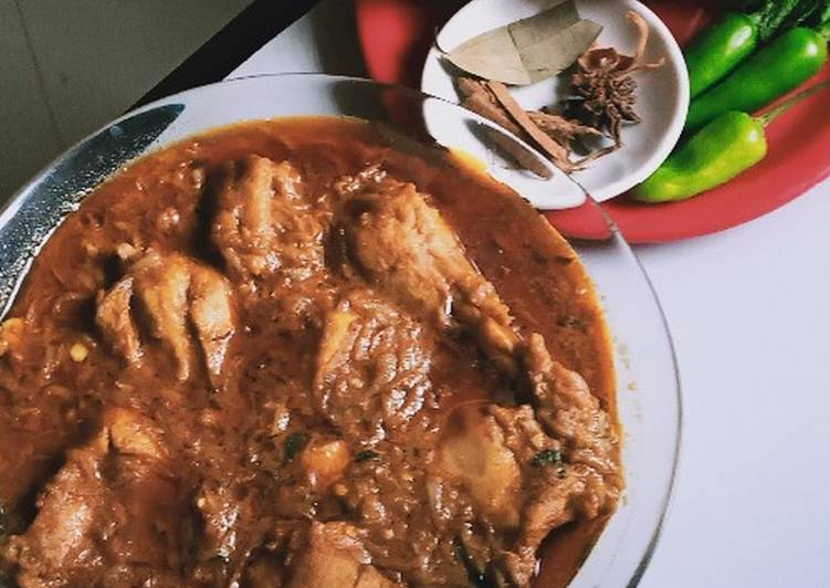 Chicken oil roast