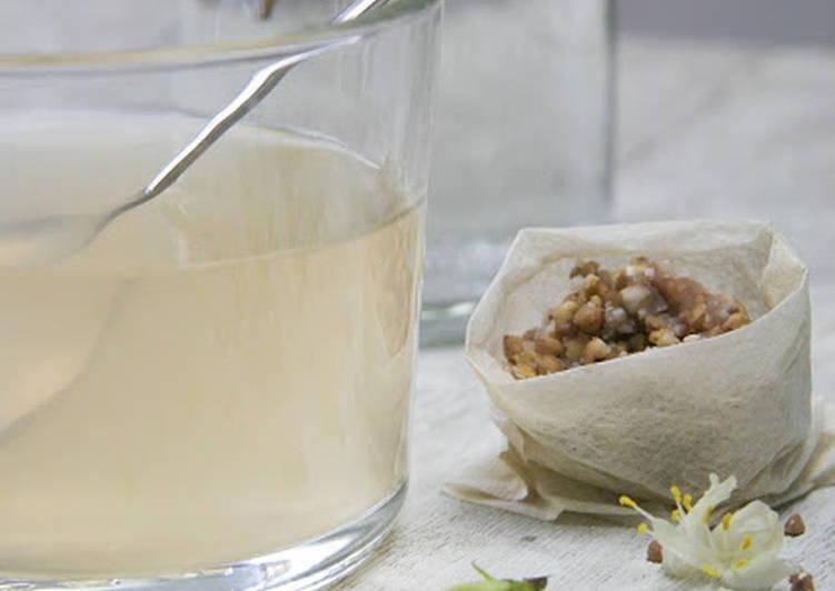 Recipe: Delicious Sobacha ou infusion aux graines de sarrasin