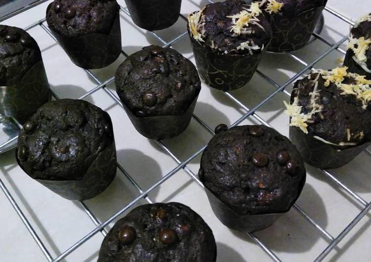 Muffin Pisang Cokelat