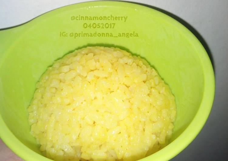 Recipe: Tasty Nasi Kuning Sederhana (Simple Indonesian Yellow Rice)