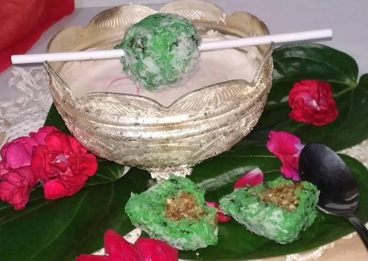 Steps to Make Homemade PaanTrufflesWithGulkand(Centers)