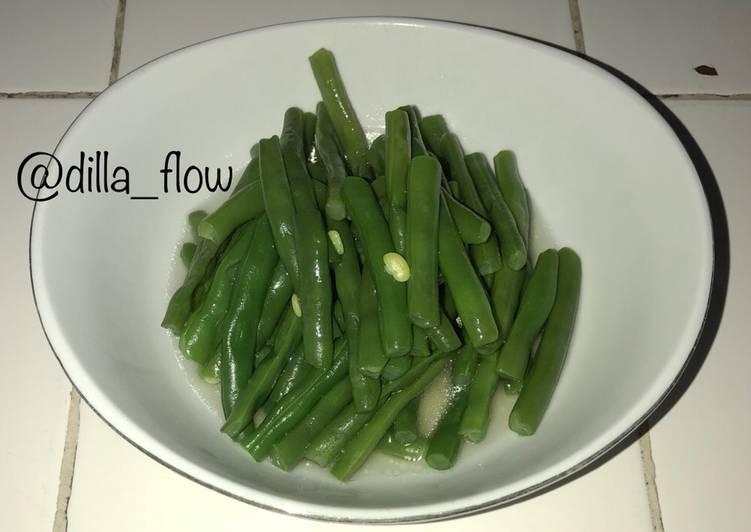 Sayur Buncis Rebus Bening