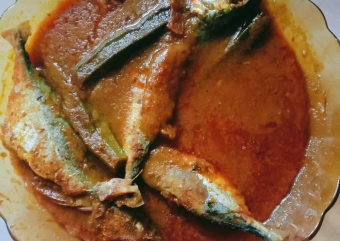 Asam Pedas Ikan Kembung Termenung🍲