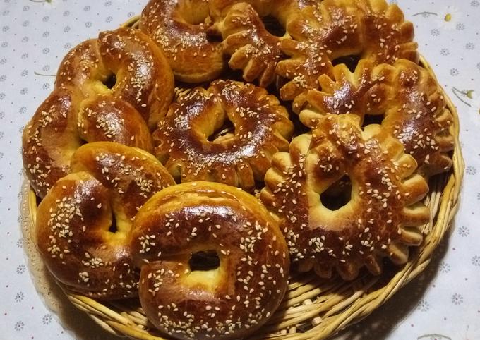 Petits pains aux sésames ☕