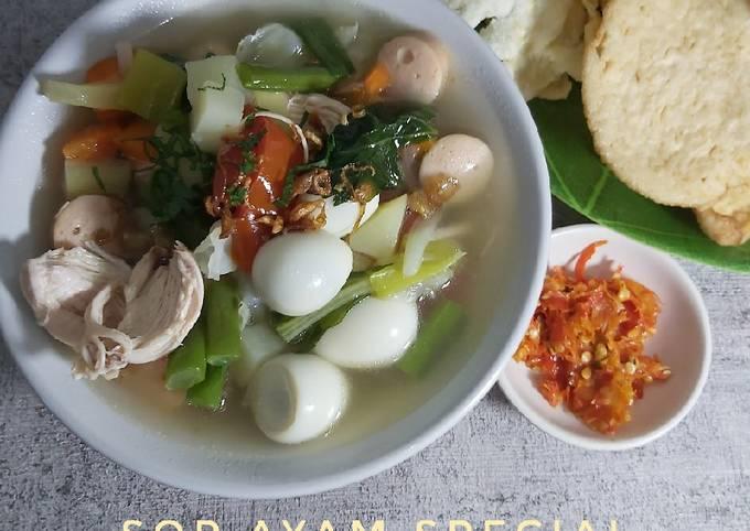 Sop Ayam Special