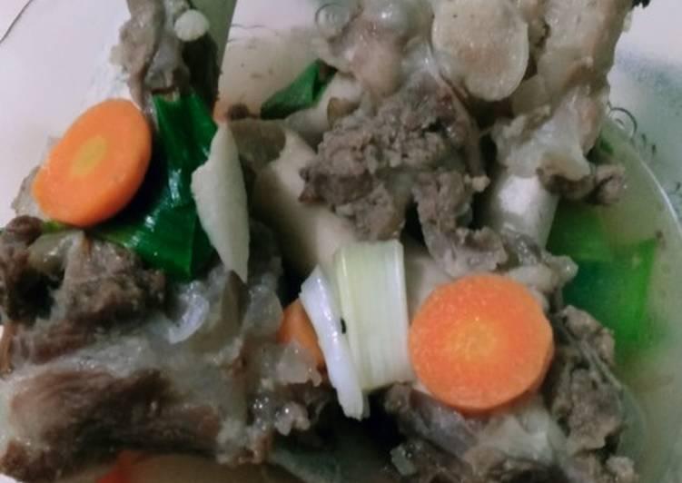 Sop tulang sumsum kambing