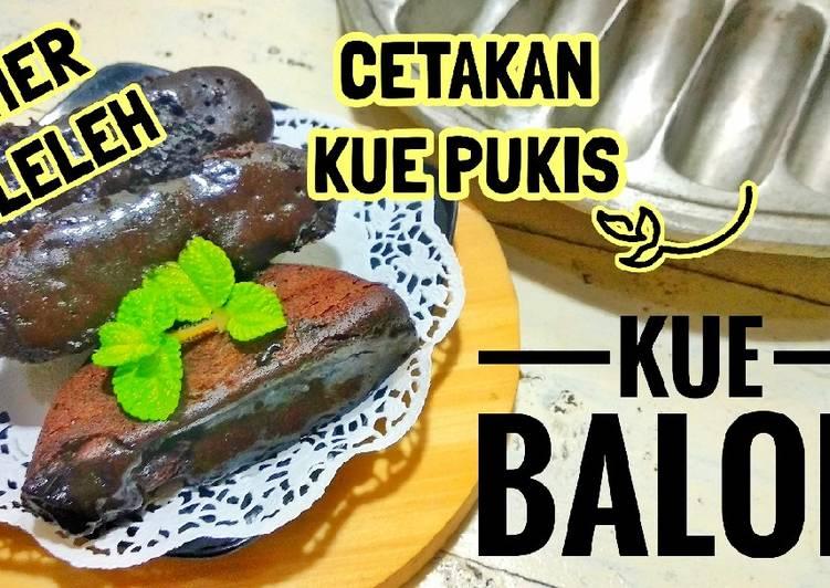 RESEP KUE BALOK | Menggunakan Cetakan Kue Pukis