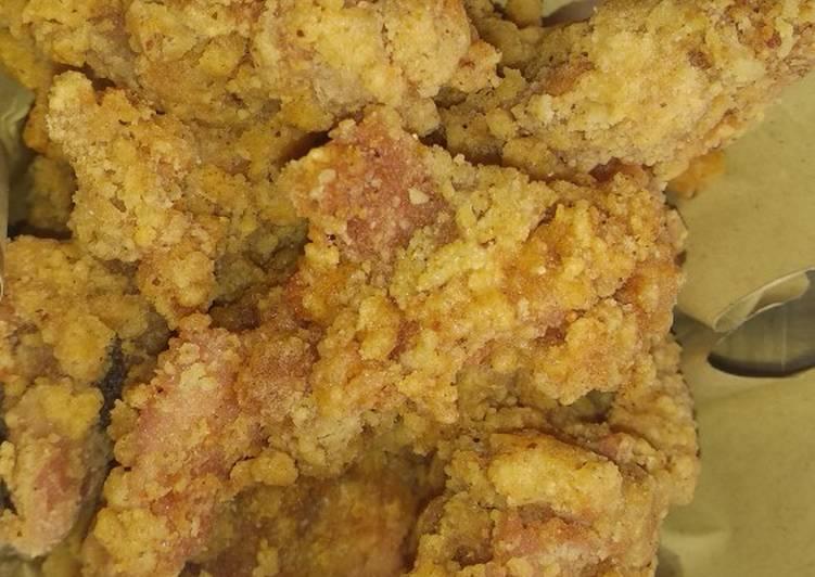 Spicy Chicken Pop / ayam pop pedas