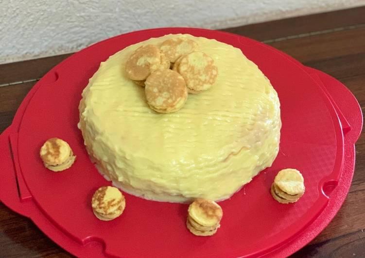 Torta con pancake 🥞