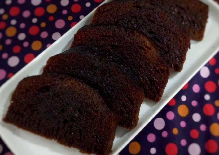 cara buat Bolu Karamel (Sarang Semut) Kukus - Sajian Dapur Bunda