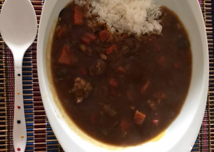 Step-by-Step Guide to Make Top-Rated Super easy Japanese curry rice- pressure cooker