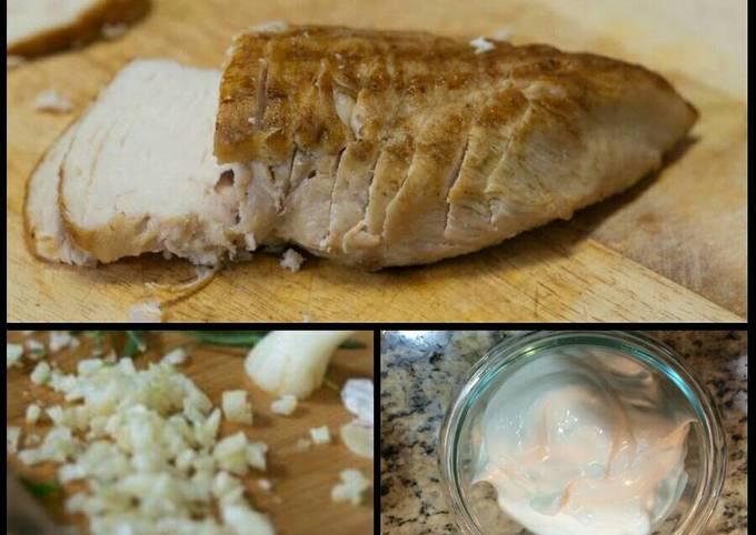 Alida's Grilled Boneless Chicken Breasts