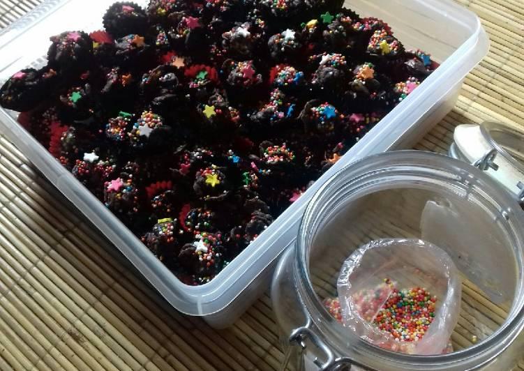 Coco Crunch Berbalut coklat dan Bermandikan Gula Warna 😄😄