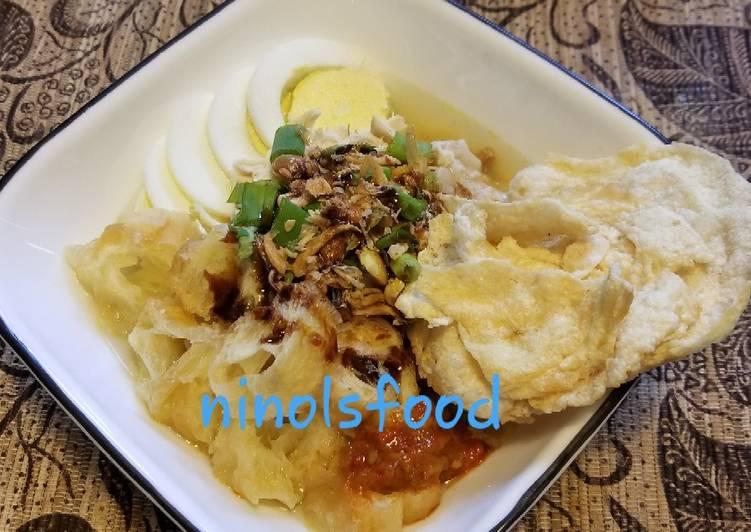 Resep Bubur Ayam (Oat) Sukabumi Terenak