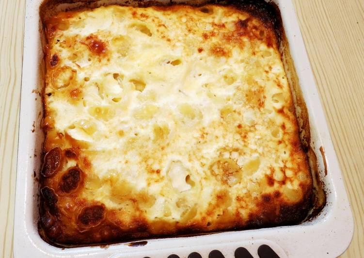 Oven baked Macaroni