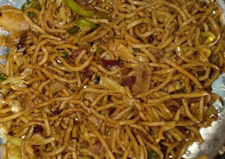 Recipe of Favorite Veg. Chowmein