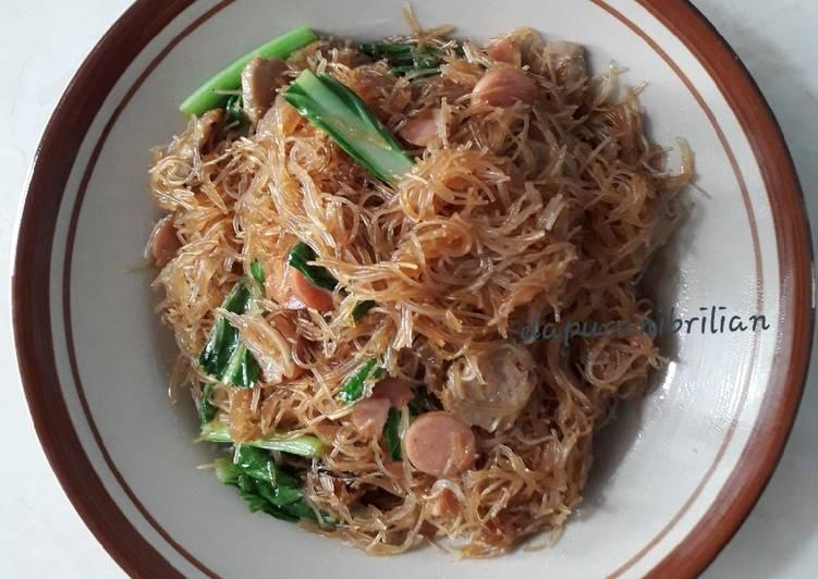 Resep Bihun goreng batita Paling Gampang