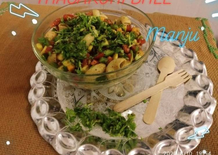 Recipe of Ultimate Chatpati macaroni bhel