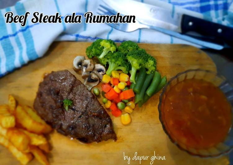 Beef Steak ala Rumahan