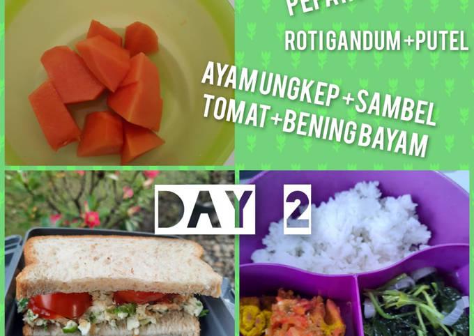 Ayam Ungkep Kuning plus sambel tomat (menu diet -day 2) - easy and enak NO MINYAK